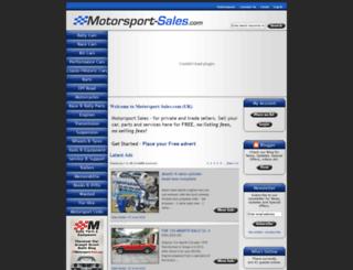 motorsport-sales.com screenshot