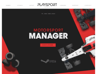 motorsportmanager.com screenshot