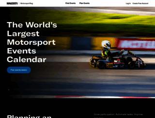 motorsportsreg.com screenshot