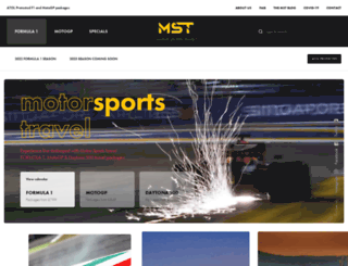 motorsportstravel.co.uk screenshot