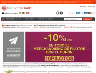 motorstore10.es screenshot
