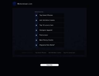 motorstown.com screenshot