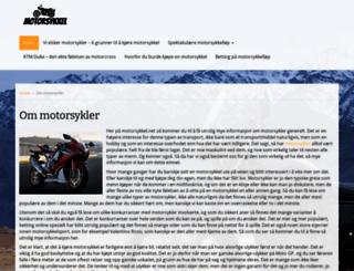 motorsykkel.net screenshot
