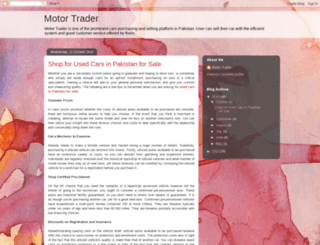 motortraderpk.blogspot.com screenshot