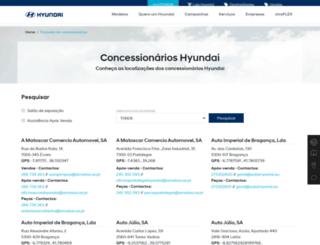 motorvap.hyundai.pt screenshot