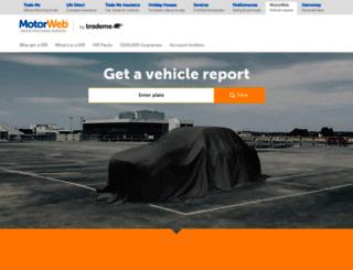 motorweb.co.nz screenshot