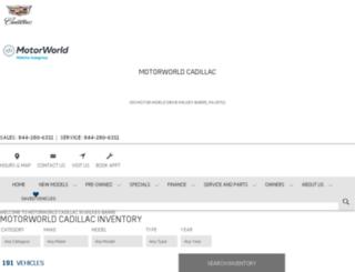 motorworld.gmpsdealer.com screenshot