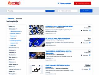 motoryzacja.owi.pl screenshot