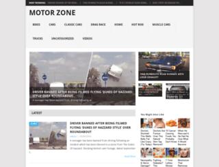 motorzone.info screenshot