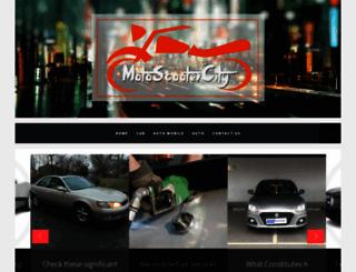 motoscootercity.com screenshot
