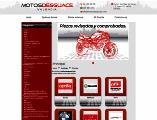 motosdesguace.com screenshot