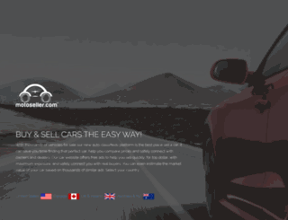 motoseller.com screenshot