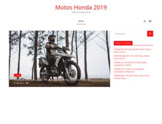 motoshonda2016.com.br screenshot