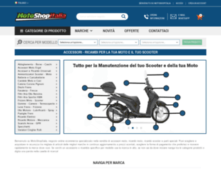 motoshopitalia.com screenshot