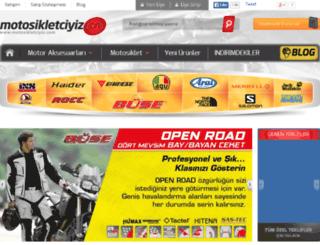 motosikletciyiz.com screenshot