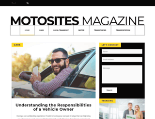 motosites.com screenshot