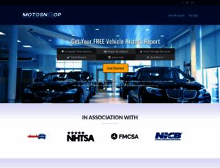 motosnoop.com screenshot