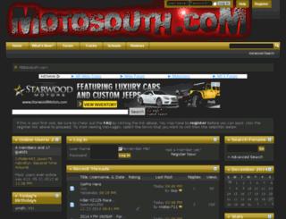 motosouth.com screenshot