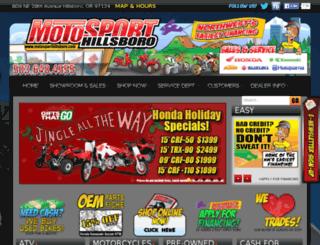 motosporthillsboro.com screenshot