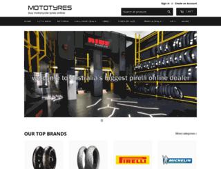 mototyres.com.au screenshot