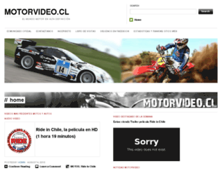 motovideo.cl screenshot