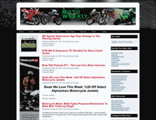 motoweekly.com screenshot