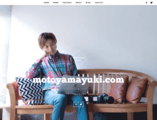 motoyamayuki.com screenshot