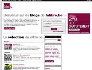 mots.lalibreblogs.be screenshot