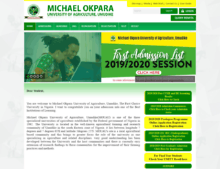 mouauportal.edu.ng screenshot