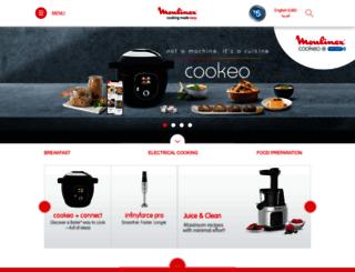 moulinex-me.com screenshot