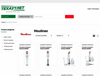 moulinex-shop.ru screenshot