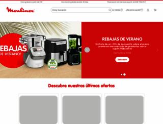 moulinex.es screenshot
