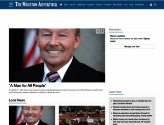 moultonadvertiser.com screenshot