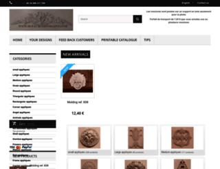 moulure-decorative.com screenshot
