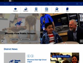moundsviewschools.org screenshot