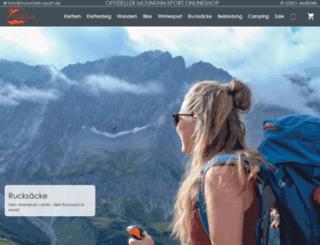 mountain-sport.de screenshot