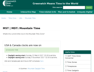 mountain-standard-time.com screenshot