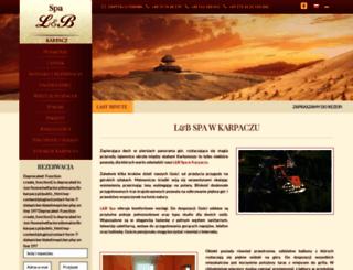 mountain.lbkarpacz.com screenshot