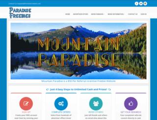 mountain.paradisefreebies.com screenshot