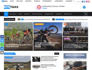 mountainbikeymas.blogspot.com.es screenshot