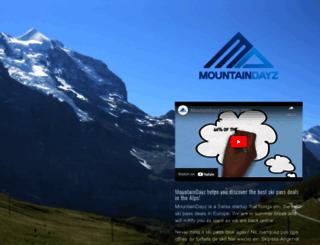 mountaindayz.com screenshot