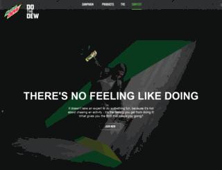 mountaindewmalaysia.com screenshot