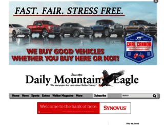 mountaineagle.com screenshot