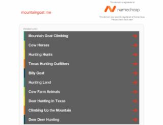 mountaingoat.me screenshot