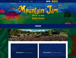 mountainjam.com screenshot
