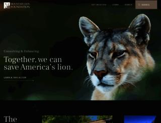 mountainlion.org screenshot