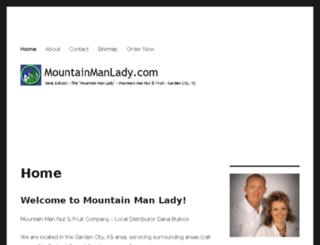 mountainmanlady.com screenshot