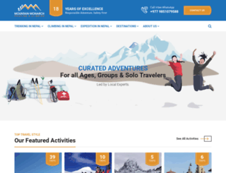 mountainmonarch.com screenshot