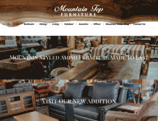 mountaintopfurniture.com screenshot