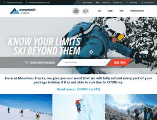 mountaintracks.co.uk screenshot